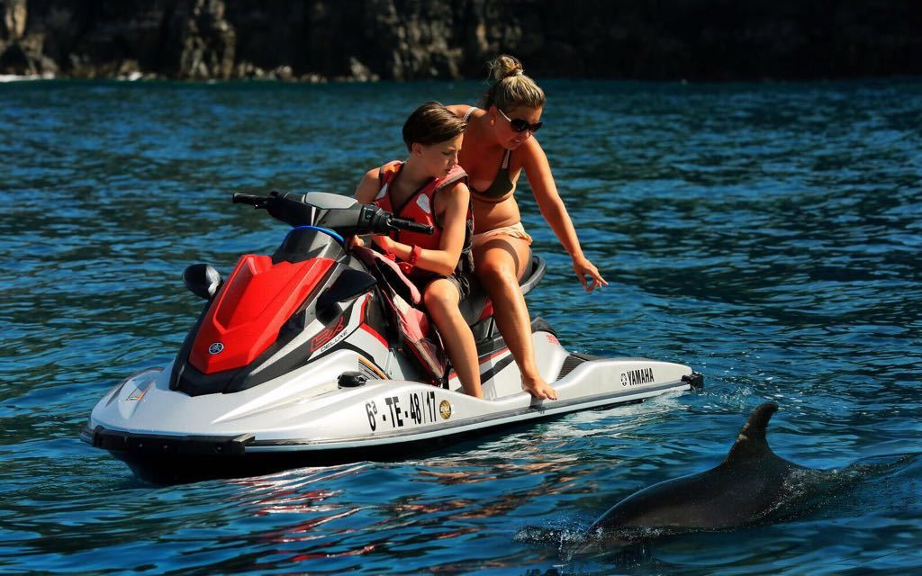 Jetski safari tenerife with pick up included
