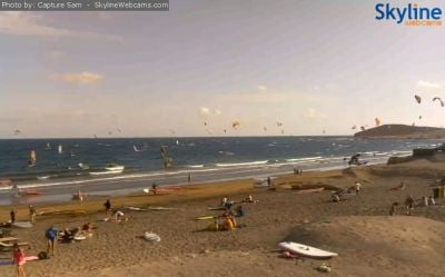 medano, beach, tenerife, kite, kitesurfing, surf, windsurfing, wind, weather