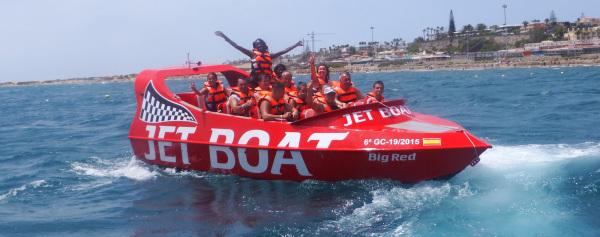 Jet boat Tenerife - speedboat - online reservation